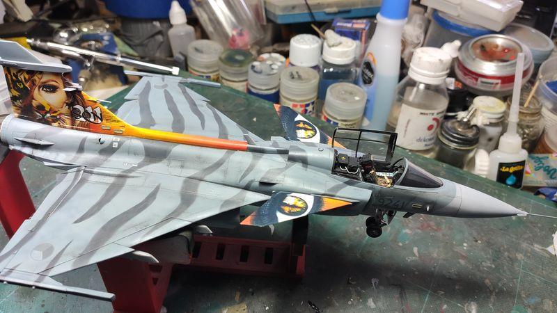 """MT: Jas-39C Gripen """"Wild Tiger"""" NTM 2017 Kitty Hawk 1/48 IMG-20200209-194311"""
