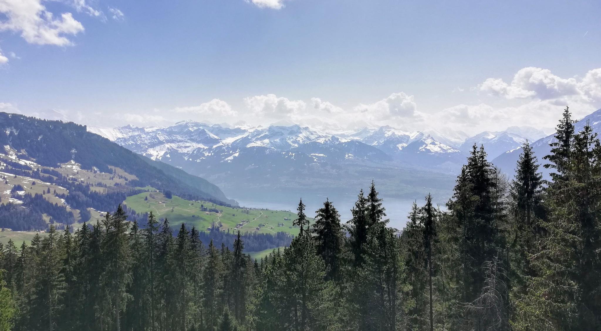 Heiligenschwendi to Blueme viewing tower family hike