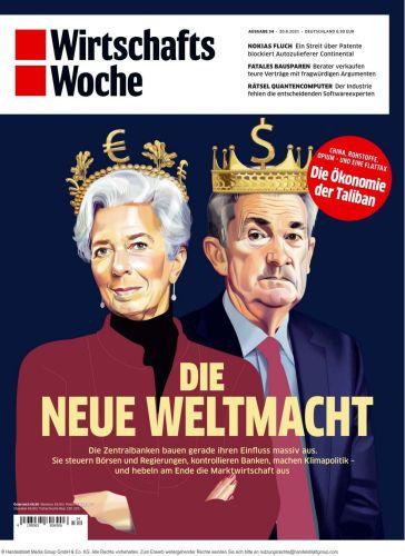 Cover: Wirtschaftswoche Magazin No 34 vom 20  August 2021