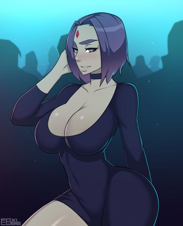 foxicube-615794-Raven-in-da-club