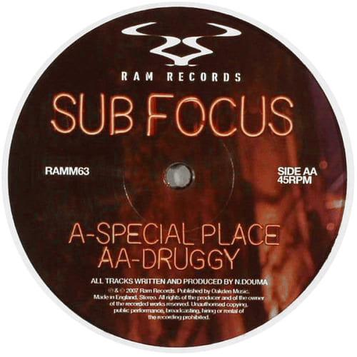 Sub Focus - Special Place / Druggy