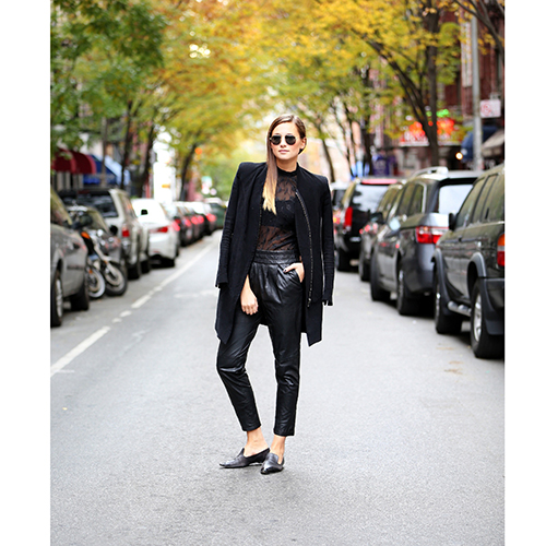 BLANKNYC VEGAN LEATHER PANT best christmas outfit