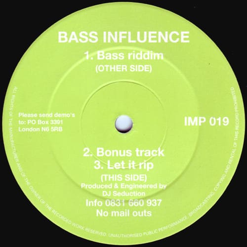 Bass Influence - Bass Riddim