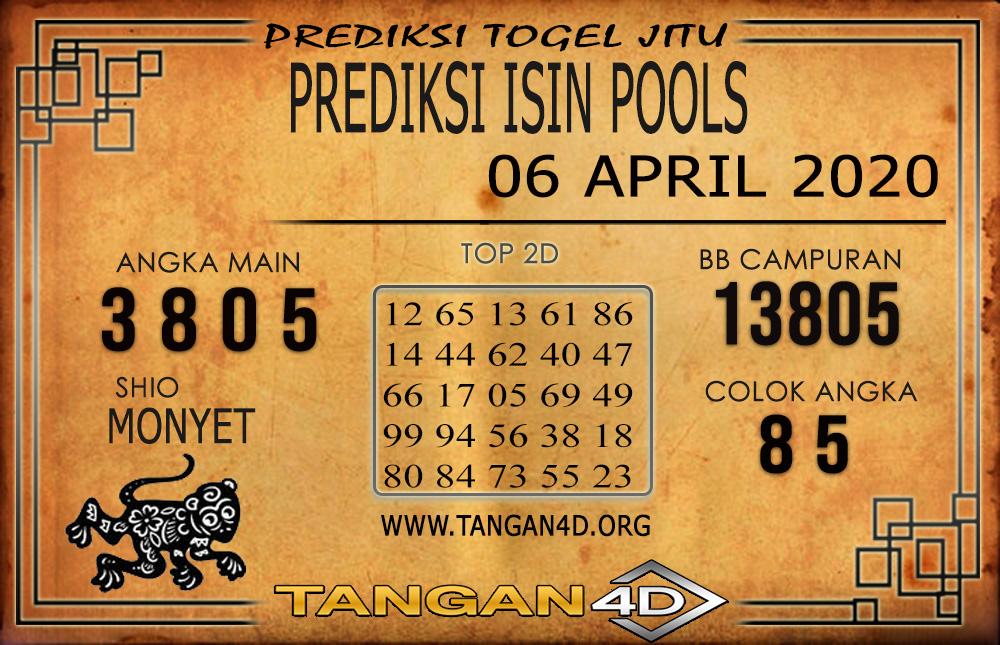 PREDIKSI TOGEL ISIN TANGAN4D 06 APRIL 2020