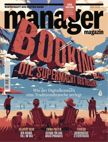 Cover: Manager Magazin Wirtschaft aus erster Hand No 08 August 2021