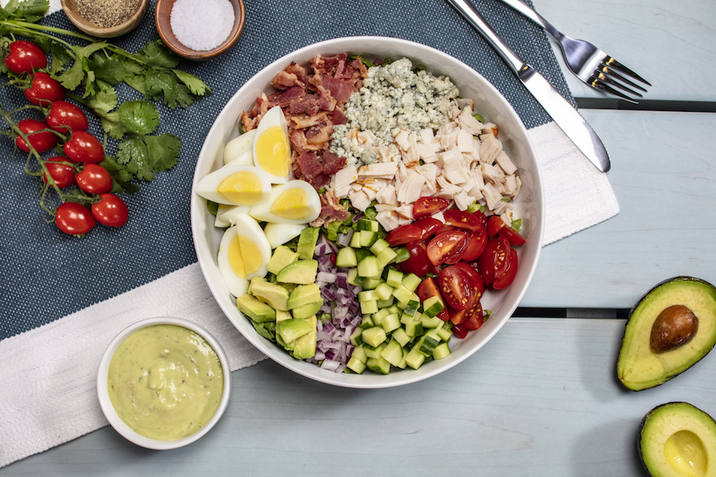 SoCal cobb salad at endless summer universal orlando