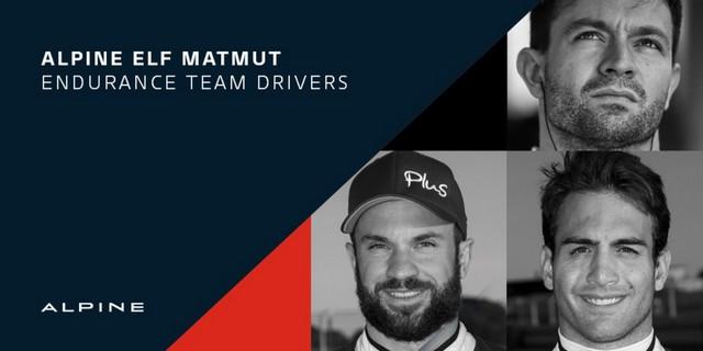 Alpine Elf Matmut Teamannonce ses pilotes pour le Championnat du Monde FIA WEC  60103c8bdaab4268c169da0a