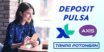 Deposit pulsa XL dan Axis tanpa potongan di IDXPlay