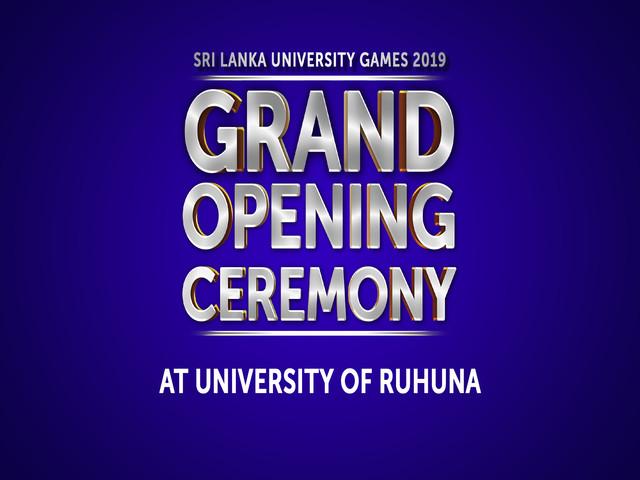 SLUG 2019 Graciously Marks Its Beginning at Ruhuna Premises