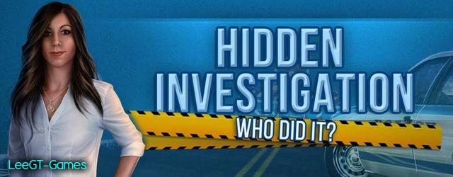 Hidden Investigation: Who Did It [v.Final]