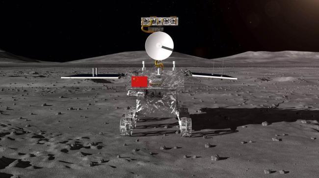 Китай объявил об успешной посадке зонда на обратной стороне Луны
