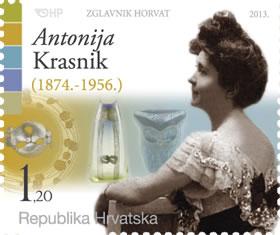 2013. year ZNAMENITI-HRVATI-ANTONIJA-KRASNIK