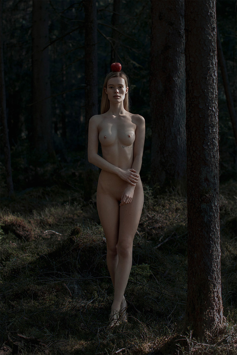 model Julia / фотограф Laukart