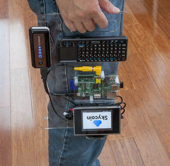 Skycoin-Portable-Pi