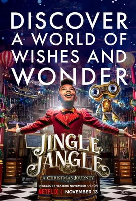 Jingle Jangle - Un'Avventura Natalizia (2020) FullHD 1080p WEBrip HDR10 HEVC E-AC3 ITA/ENG