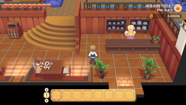 「牧場物語」系列首次在Nintendo SwitchTM平台推出全新製作的作品!  『牧場物語 橄欖鎮與希望的大地』 於今日2月25日(四)發售 052