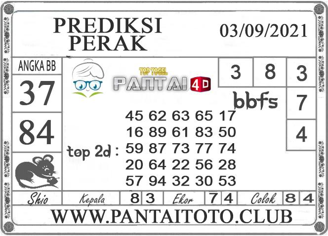 PREDIKSI TOGEL PERAK PANTAI4D 03 SEPTEMBER 2021