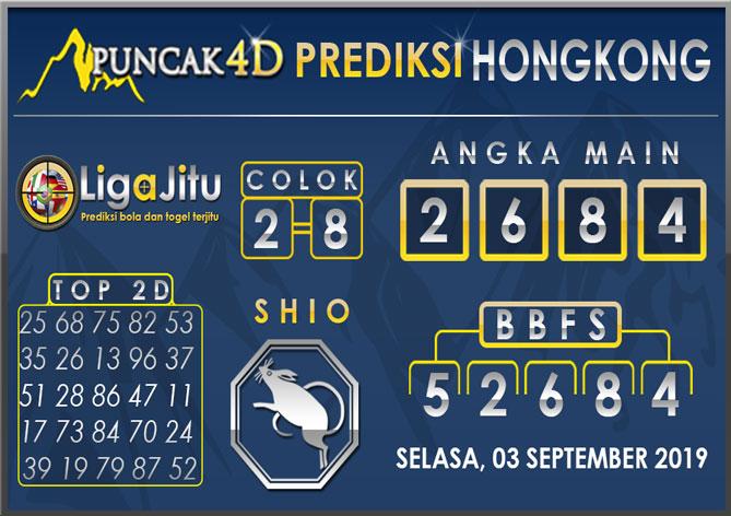 PREDIKSI TOGEL HONGKONG PUNCAK4D 03 SEPTEMBER 2019