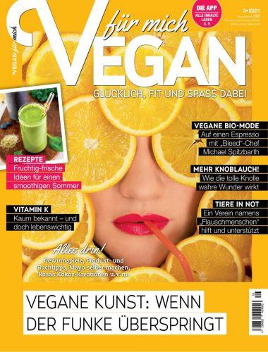 Cover: Vegan für mich Magazin No 05 2021
