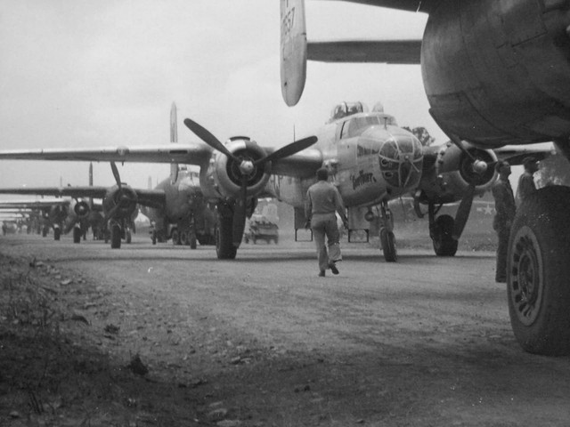 B 25 Foggia Airfield Comp Italy Copy