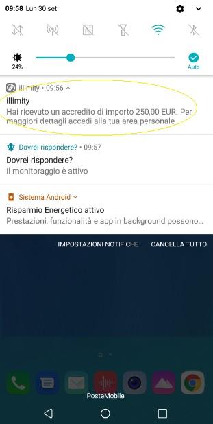 Illimity PROMOZIONE 25,00€ DI BENVENUTO + 25,00 €/invito Scadenza 31/12/2019 + interessi fino 3,25% 2019-Set30-250euro-Illim
