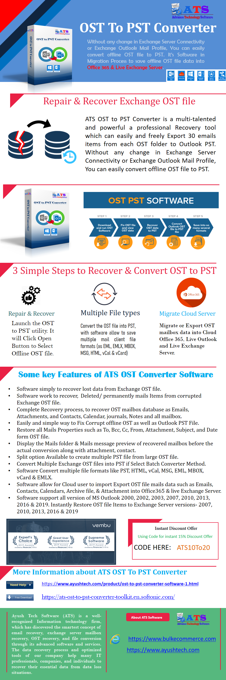 RE: Outlook OST to PST Converter Software
