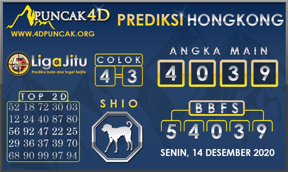 PREDIKSI TOGEL HONGKONG PUNCAK4D 14 DESEMBER 2020