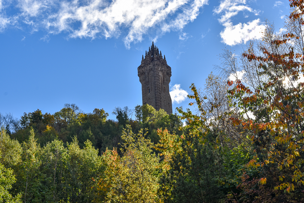 The National Wallace Monument, Stirling Itinerary