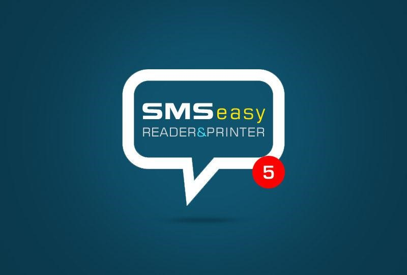Is it easy to Print SMS Android with SMS EasyReader & Printer?