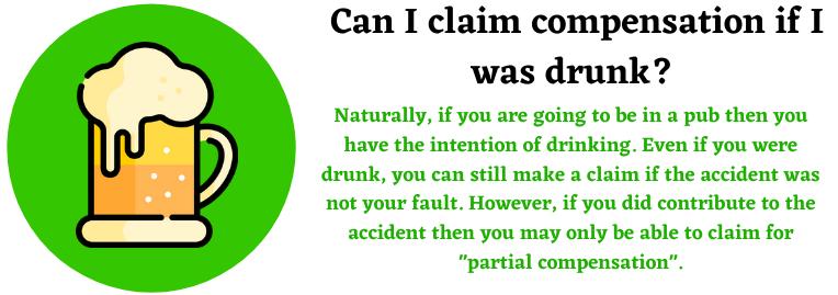 drunk compensation