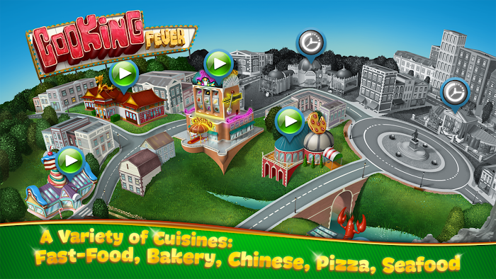 Cooking Fever (MOD, Unlimited Coins/Gems)