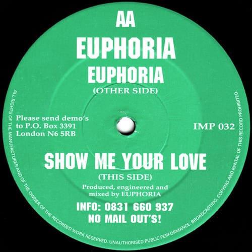 Download Euphoria - Euphoria / Show Me Your Love mp3