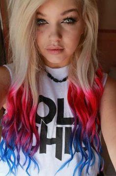 65e3e3a9655c40ff77fed6f84d16048b-dip-dye-hair-dyed-hair
