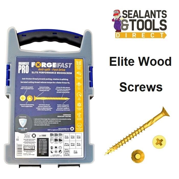 Forgefix-Pozi-Elite-Wood-Screws-FORFFP1000-Y