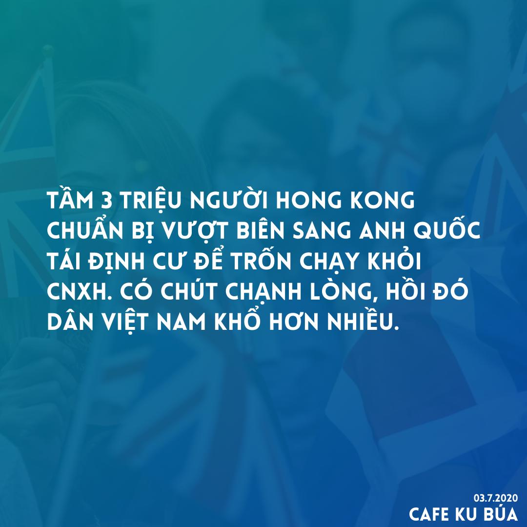 DÂN HONG KONG VƯỢT BIÊN SANG ANH QUỐC