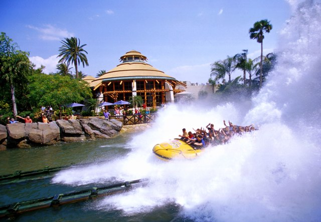 Jurassic Park River Adventure ride at Universal Orlando