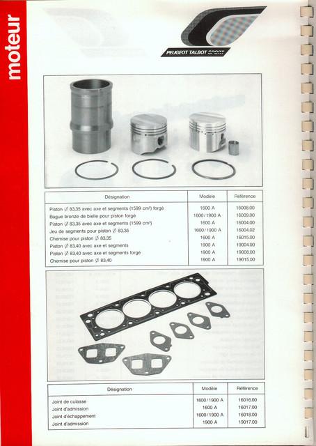 Catalogue PTS pièces compétition - 205 GTI 1600-1900 gr. N/A PTS-Moteur-3
