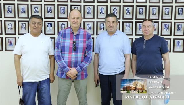 Filialga bolalar jarrohligi bo'yicha Rossiya va Isroil davlatidan mutaxassislar tashrif buyurdi
