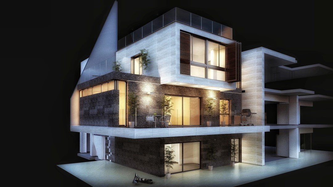 River Residential Complex Architecture Project