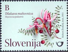 Slovenia stamps CVIJE-E-2011-B