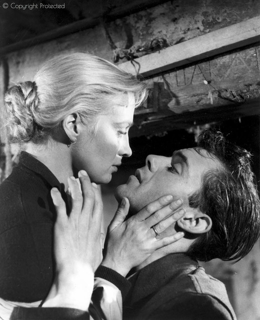 Mai-Zetterling-and-Dirk-Bogarde-in-Desperate-Moment-1953-dir-Compton-Bennett