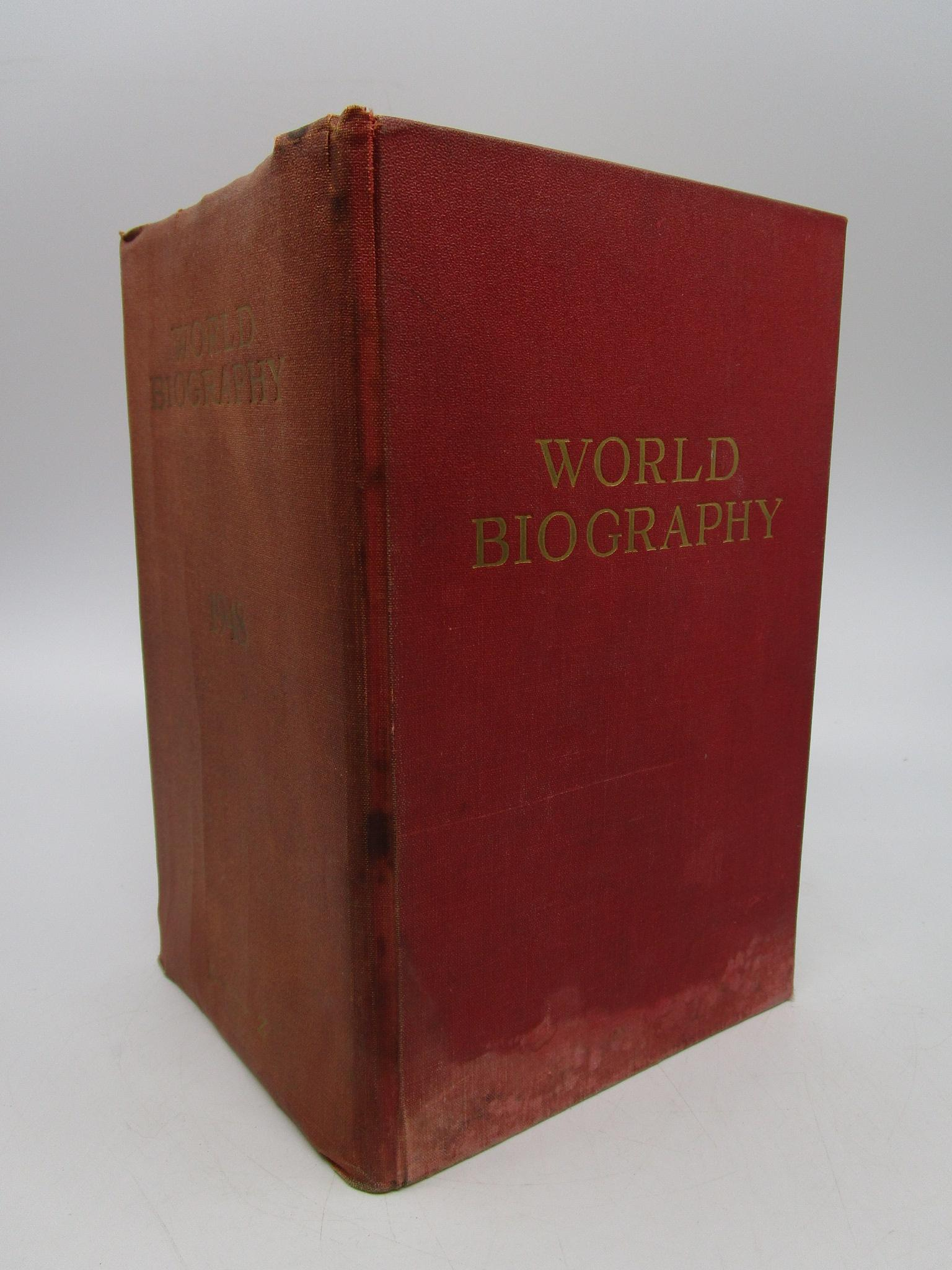 Image for World Biography (Two Volume Set)