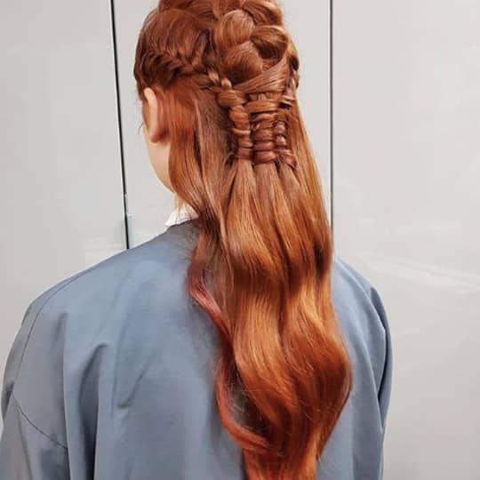 Ginger-strawberry-styled-hair