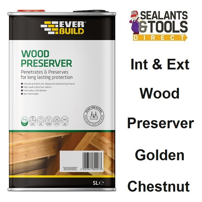 Everbuild-Wood-Preserver-Golden-Chestnut-5-Litre-LJGC05