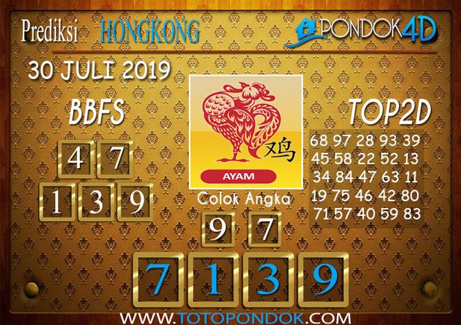 Prediksi Togel HONGKONG PONDOK4D 30 JULI 2019