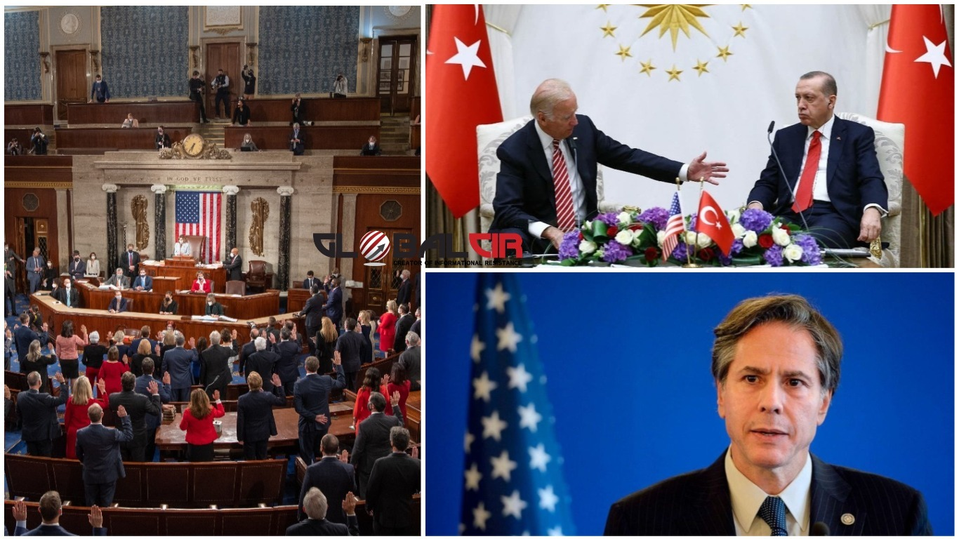 170 AMERIČKIH KONGRESMENA IZ OBJE PARTIJE PISALO BAJDENOVOJ ADMINISTRACIJI: 'Izvršite pritisak na Tursku zbog kršenja ljudskih prava, Erdogan je zategnuo odnose između naše dvije zemlje'