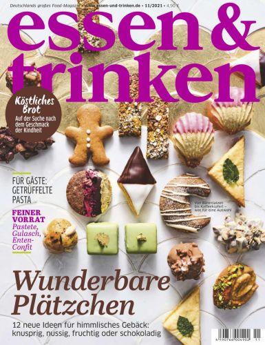 Cover: Essen und Trinken Magazin November No 11 2021