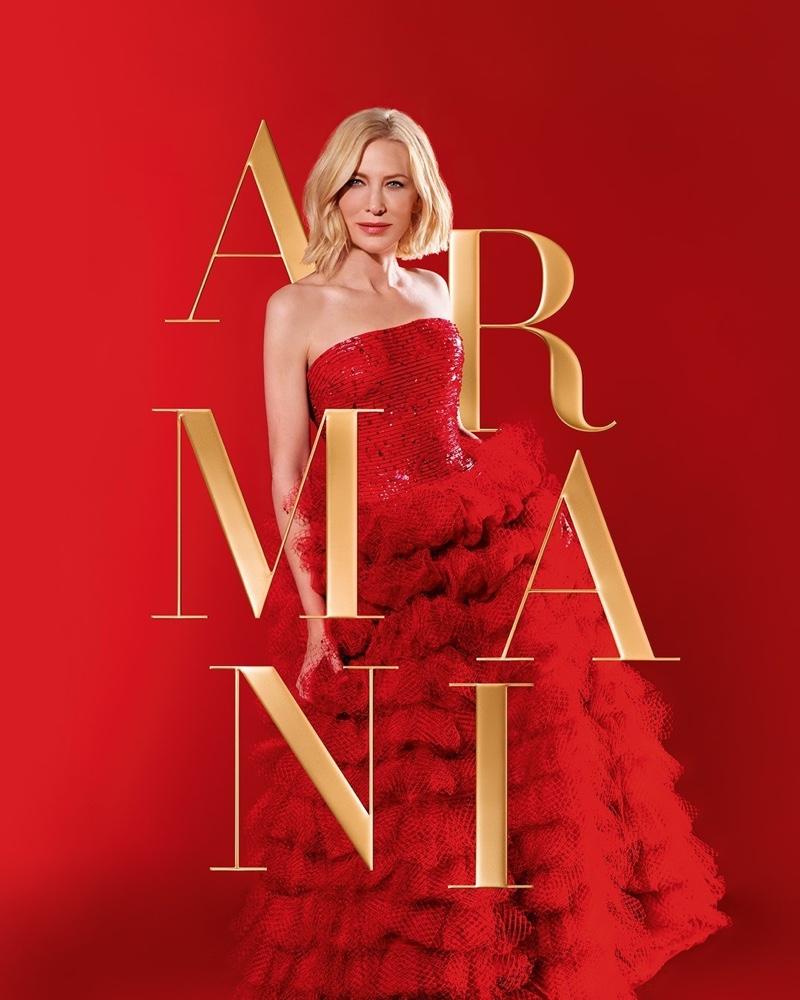 Armani Beauty la campagna Holiday 2020 con Cate Blanchett