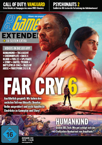 Cover: Pc Games Extended Magazin No 10 Oktober 2021