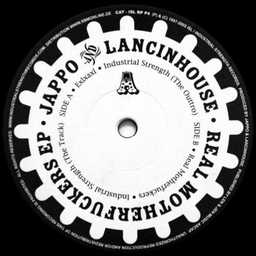 Download DJ Lancinhouse vs. DJ Jappo - The Real Motherfuckers E.P. mp3